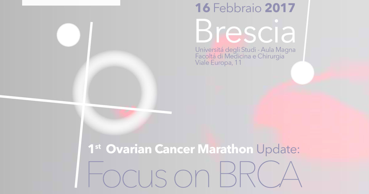 1st Ovarian Cancer Marathon Update Focus on BRCA
