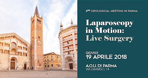 2ND UROLOGICAL MEETING IN PARMA - Laparoscopy in Motion: Live Surgery