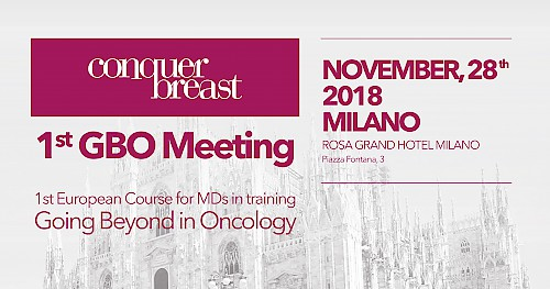 1st GBO Meeting - First European course for MDs in Training - GOING BEYOND IN ONCOLOGY