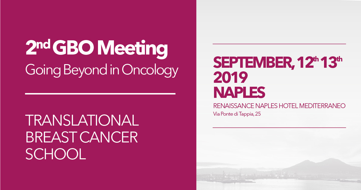 2nd GBO Meeting - Going Beyond in Oncology