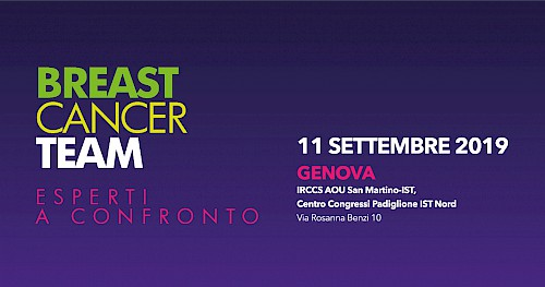 BREAST CANCER TEAM - Esperti a confronto - GENOVA