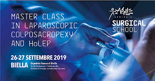 MASTER CLASS IN LAPAROSCOPIC COLPOSACROPEXY AND HoLEP