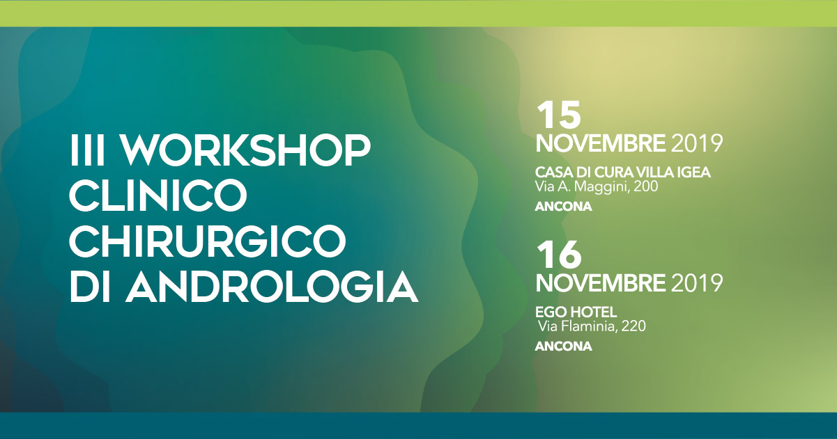 III Workshop clinico chirurgico di andrologia