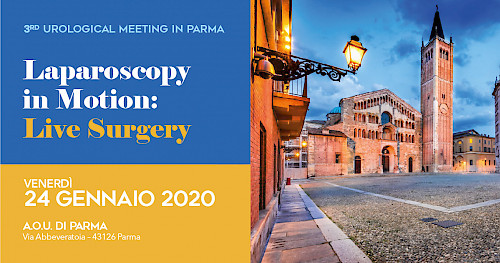 3rd UROLOGICAL MEETING IN PARMA - Laparoscopy in Motion: Live Surgery