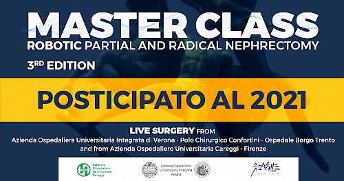 MASTER CLASS - ROBOTIC PARTIAL AND RADICAL  NEPHRECTOMY