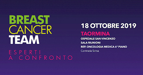 BREAST  CANCER  TEAM ESPERTI  A CONFRONTO - TAORMINA