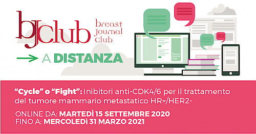 """Cycle""o""Fight"": Inibitori anti-CDK4/6 per il trattamento del tumore mammario metastatico HR+/HER2-"